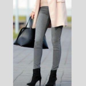 Cabi Gray Skinny Jeans Sz 10 Style 921